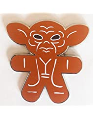 Disney Pin 107221 Star Wars Gingerbread Pin Mystery Collection - Yoda Pin ONLY
