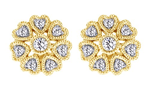 25 Ct Diamond Earrings - 9