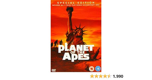 Planet Of The Apes Boxset DVD [Reino Unido]: Amazon.es: Roddy ...