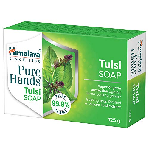 Himalaya Pure Hands Tulsi Soap, 125 g (Pack of 6)