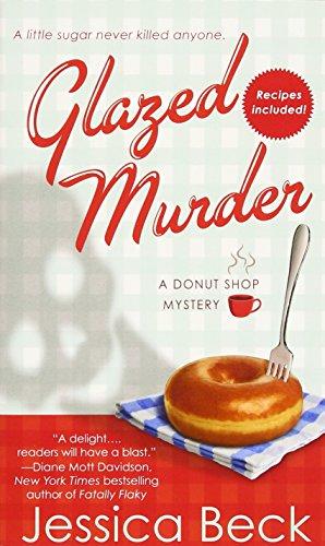 book cover of Glazed Murder