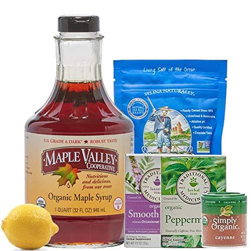 Maple Valley 5 Day Organic Master Cleanse Lemonade Detox/Kit