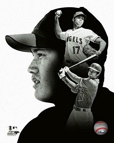 Angeles Los Angels Photograph (Shohei Ohtani Los Angeles Angels PROFile MLB Photo (Size: 8