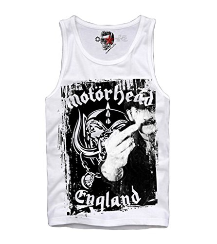 E1SYNDICATE TANK TOP SHIRT ACE OF SPADES ACDC LEMMY METALLICA S-XL