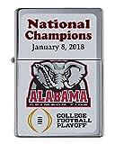 Alabama Crimson Tide 2018 National Championship Football Limited Edition Flip Top Lighter