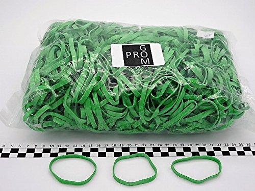 Progom 70 Gomas Elasticas Verde bolsa de 1kg /ø45 mm x 5mm