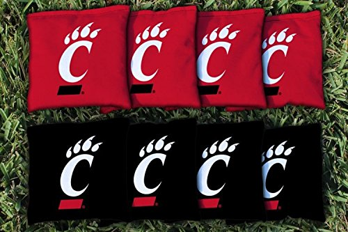 Victory Tailgate 8 University Cincinnati Bearcats Regulation Corn Filled Cornhole (Cornhole Bags Cincinnati)