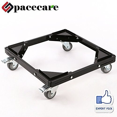 SPACECARE Telescopic Furniture Dolly Roller with Swivel Locking Casters, Steady Steel Frame, STFD009 [New Version]