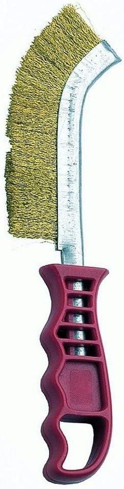 Bellota 50806-A - Cepillo de alambre manual para trabajo de cepillado, limpieza y eliminacion de pinturas, barnices, cascarilla, oxidos y pequeñas rebabas
