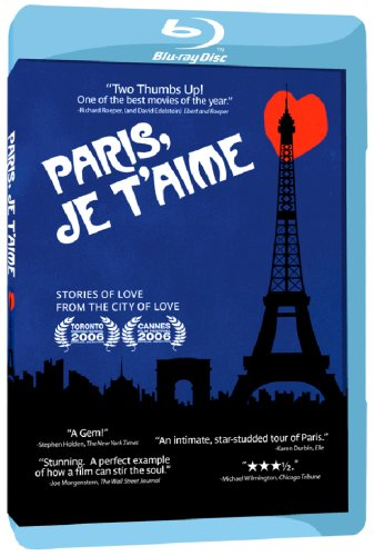 Paris, je t'aime [Blu-ray] - Seller: The Pink Peppermint [+Peso($26.00 c/100gr)] (MMV)