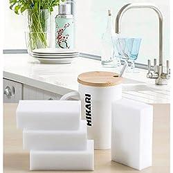 30 PCs/Set New Multifunctional White Magic Sponge Eraser Melamine Cleaner Kitchen Bathroom Cleaning Tools