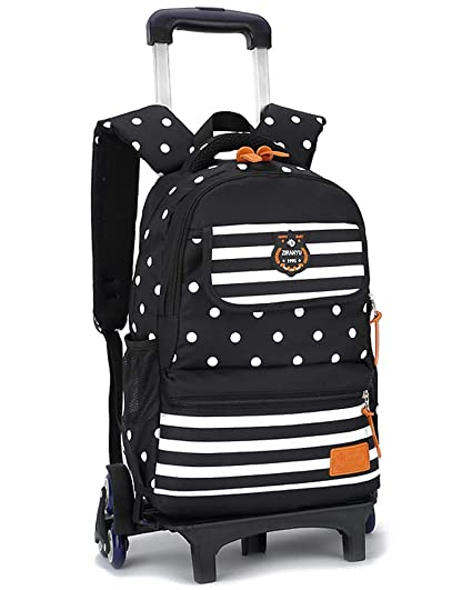 6b6d742f1aea Jumedy Ultralight Children's Trolley Bag Schoolgirl Large 3-5-6 ...
