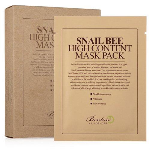 [Benton] Snail Bee High Content MaskPack 20g 10 Sheets