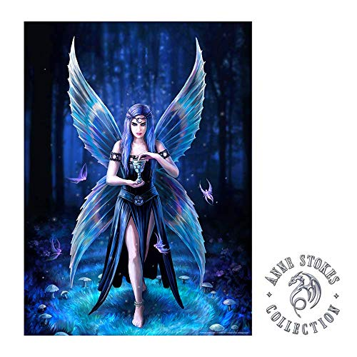 [해외]IT`S A SKIN Anne Stokes | Enchantment Wall Poster Officially Licensed Merchandise. Great Wall Art for Home Decor Bedroom Decor Kitchen Wall Decor Room Decor. Fairy Mystical / IT`S A SKIN Anne Stokes | Enchantment Wall Poster Offici...