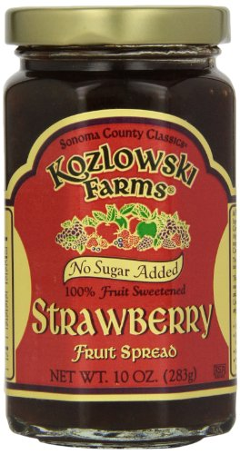 Kozlowski Farms Fruit Spread, Strawberry, 10-Ounce (Pack of - Just Like Strawberry Sugar
