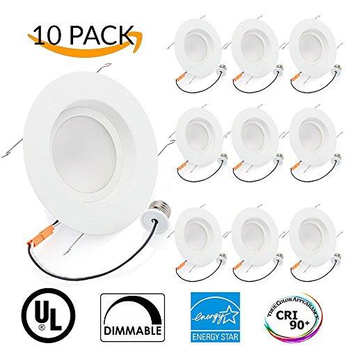 Sunco Lighting 10 PACK - 16Watt 5