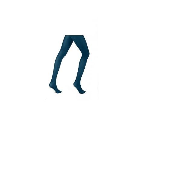 44c8c1c6dbcfe Mytoptrendz® Women Plus Size Opaque Teal Tights - X Large: Amazon.co.uk:  Clothing