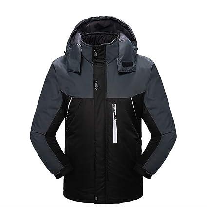 YFoth Chaqueta de Invierno frío para Hombres, Deportes al Aire Libre, esquí cálido Alpinismo
