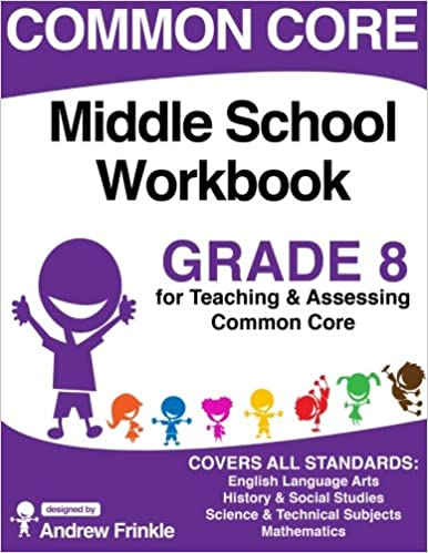 Common Core Middle School Workbook Grade 8 (Middle School Common ...