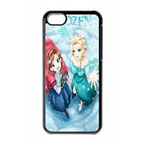 [Tony-Wilson Phone Case] For Iphone 5c -IKAI0448097-Frozen Forever,Snow Queen and Olaf