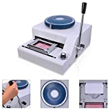 Koval Inc. PVC Plastic Card Manual Embosser Embossing Machine (Silver)