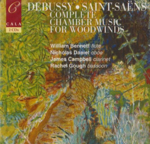 Debussy/Saint-Saens: Complete Chamber Music for Woodwinds