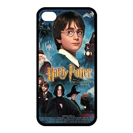 Amazon.com: Custom Harry Potter Back case for iphone4,4S ...