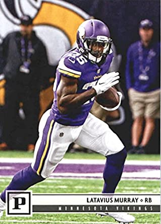 best service 726b6 8bcbc Amazon.com: 2018 Panini NFL Football #188 Latavius Murray ...