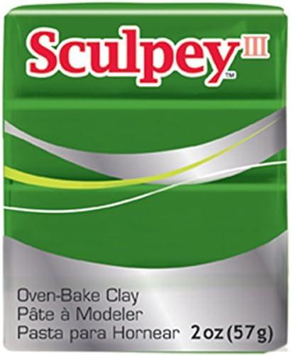 Sculpey 11322 Sculpey Iii 2 Oz. Leaf Green