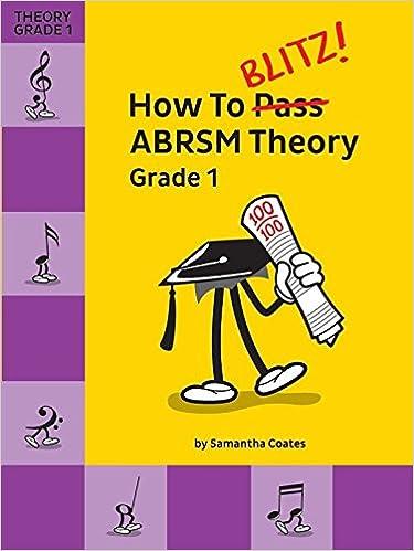 How to Blitz ABRSM Theory Grade 1: COATES S: 9781785583544: Amazon ...