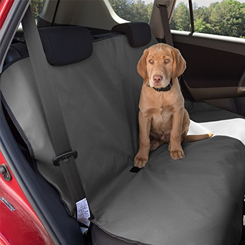Aussie Naturals Dog Car Seat Cover – Waterproof Backing (Grey) Review