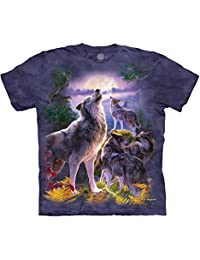 The Mountain Wolf Pack Moon T-Shirt