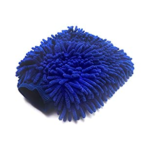 Microtidy Microfiber Mitt and Towel Set - Cleaning Mitt and Clothes for Cars - Best Micro Mitt and Towel with Fiber Lint Free that are GUARANTEED FOR LIFE