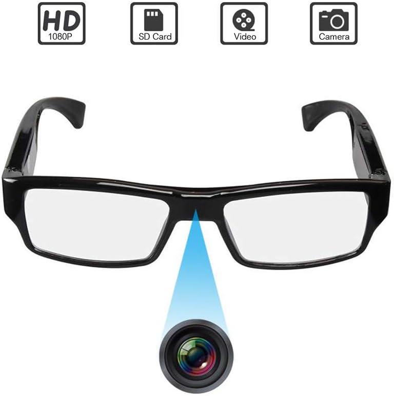 1080p HD 32GB HIDDEN SPY VIDEO RECORDER EYEWEAR GLASSES /& REMOVABLE MEMORY CARD