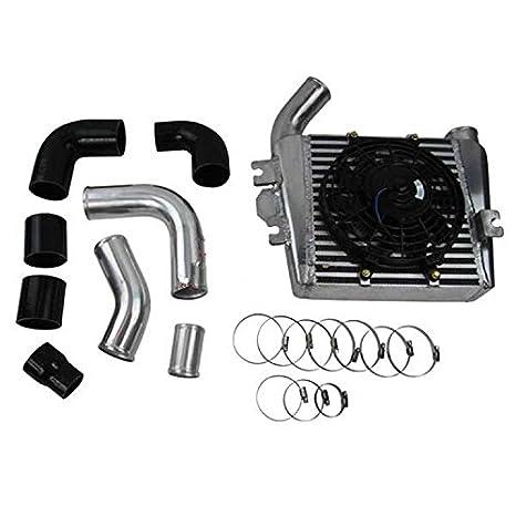 GOWE Intercooler para Nissan Patrol Gu 3.0Tdi ZD30 gu30di-t Turbo Diesel aluminio motores de automóviles sistema de refrigeración: Amazon.es: Bricolaje y ...