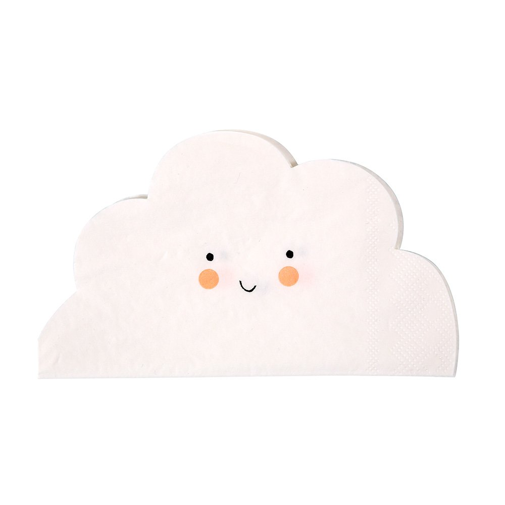 Meri Meri Cloud Shaped Napkin