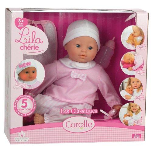Corolle Mon Bébé Classique Interactive Lila Chérie Doll