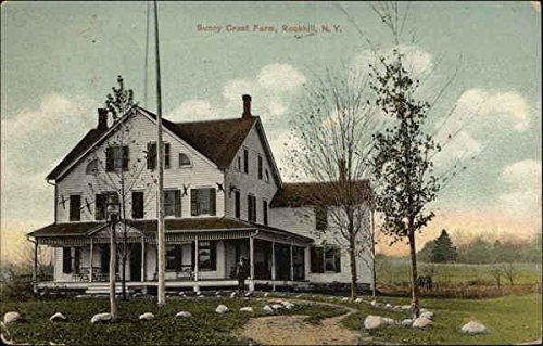 (Sunny Crest Farm Rock Hill, New York Original Vintage Postcard)