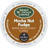 Green Mountain Coffee Mocha Nut Fudge, K-Cup Portion Pack for Keurig Brewers 24-Count
