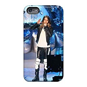 Hard Plastic Iphone 6 Case Back Cover,hot 30 Seconds To Mars Band 3STM Case At Perfect Diy
