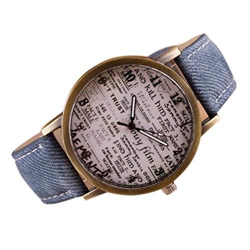 NEAER Unisex Watches Casual Business Dress Analogue Quartz Leather Wrist Watch for Men Women