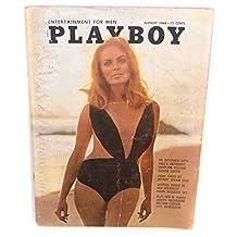 Playboy Magazine August 1968 Issue