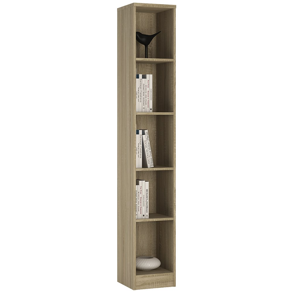 fairstead furniture large instant bookcase angle products painted narrow grey tall