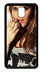 Note 3 Case, Galaxy Note 3 Case, [Perfect Fit] Soft TPU Crystal Clear [Scratch Resistant] Emma Watson Creativity Back Case Cover for Samsung Galaxy Note 3 N9000 Cases