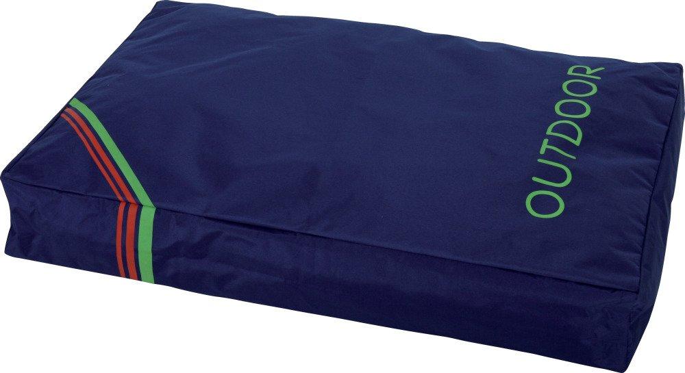 Zolux Coussin Déhoussable Outdoor en Polyester pour Chien Bleu 101 x 71 x 21 cm 409328BLE
