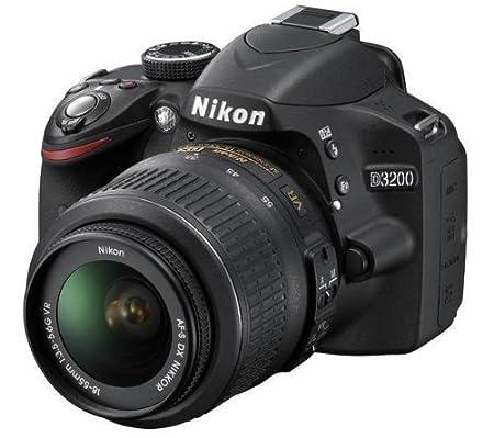 NIKON D3200 + AF-S VR DX 18-55 mm + Trípode ligero Trepix + ...