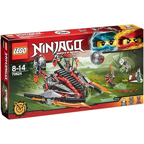 LEGO Ninjago Botella Talla /única Negro//Rojo