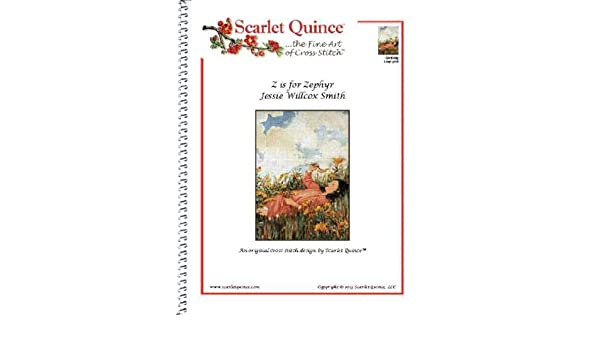 Jessie Wilcox Smith Young Girl and Butterflies Counted Cross Stitch Chart