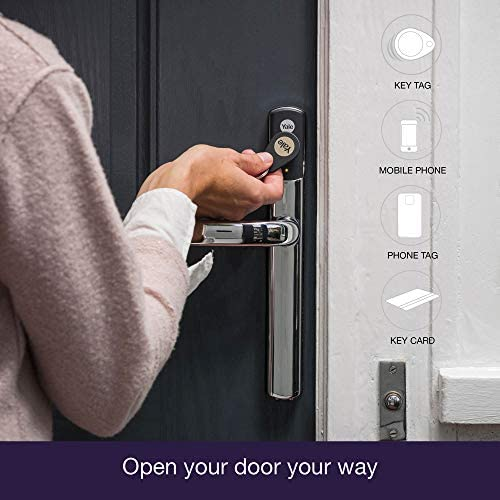 Yale conexis L1 Inteligente Puerta Lock – Cromado: Amazon.es ...