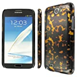 EMPIRE Slim Fit 3D Tortoise Shell Case for Samsung Galaxy Note 2 II